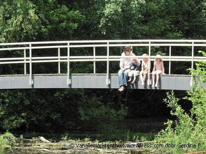 Op de brug, foto van Gerdine B