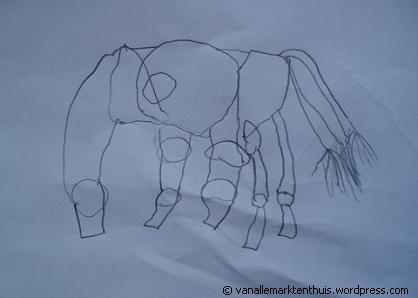 Het is een paard!