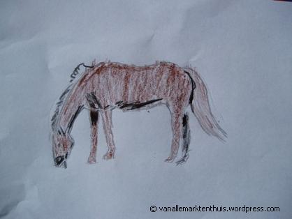 Paard door Jette