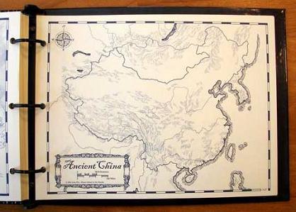 Kaart van het oude China