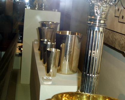 Zilveren bekers