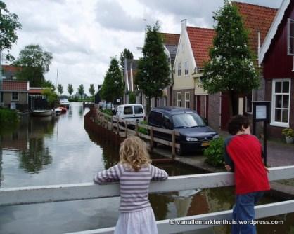 Uitkijken naar het vroegere Beemstermeer