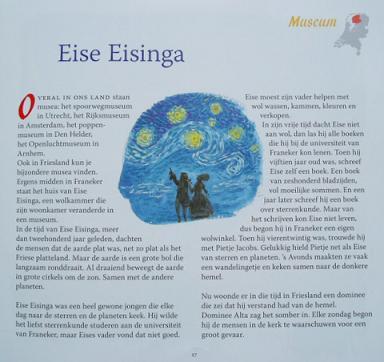 Eise Eisinga, uit: Overal en ergens... van Arend van Dam en Alex de Wolf