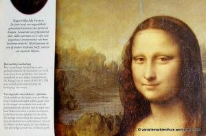 Da Vince, Mona Lisa, detail uit: Een andere kijk op kunst van Robert Cumming