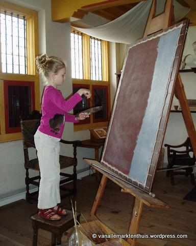 Rembrandt - Jet in het atelier