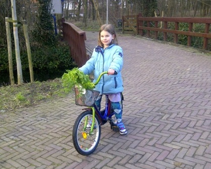fiets kinderboerderij