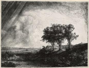 De drie bomen (1643)