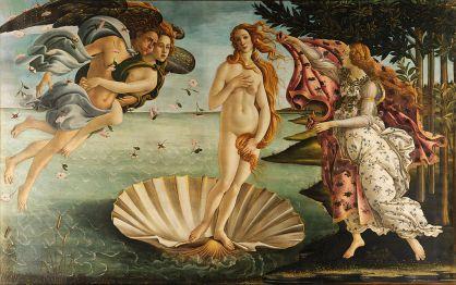 Sandro Botticelli, De geboorte van Venus